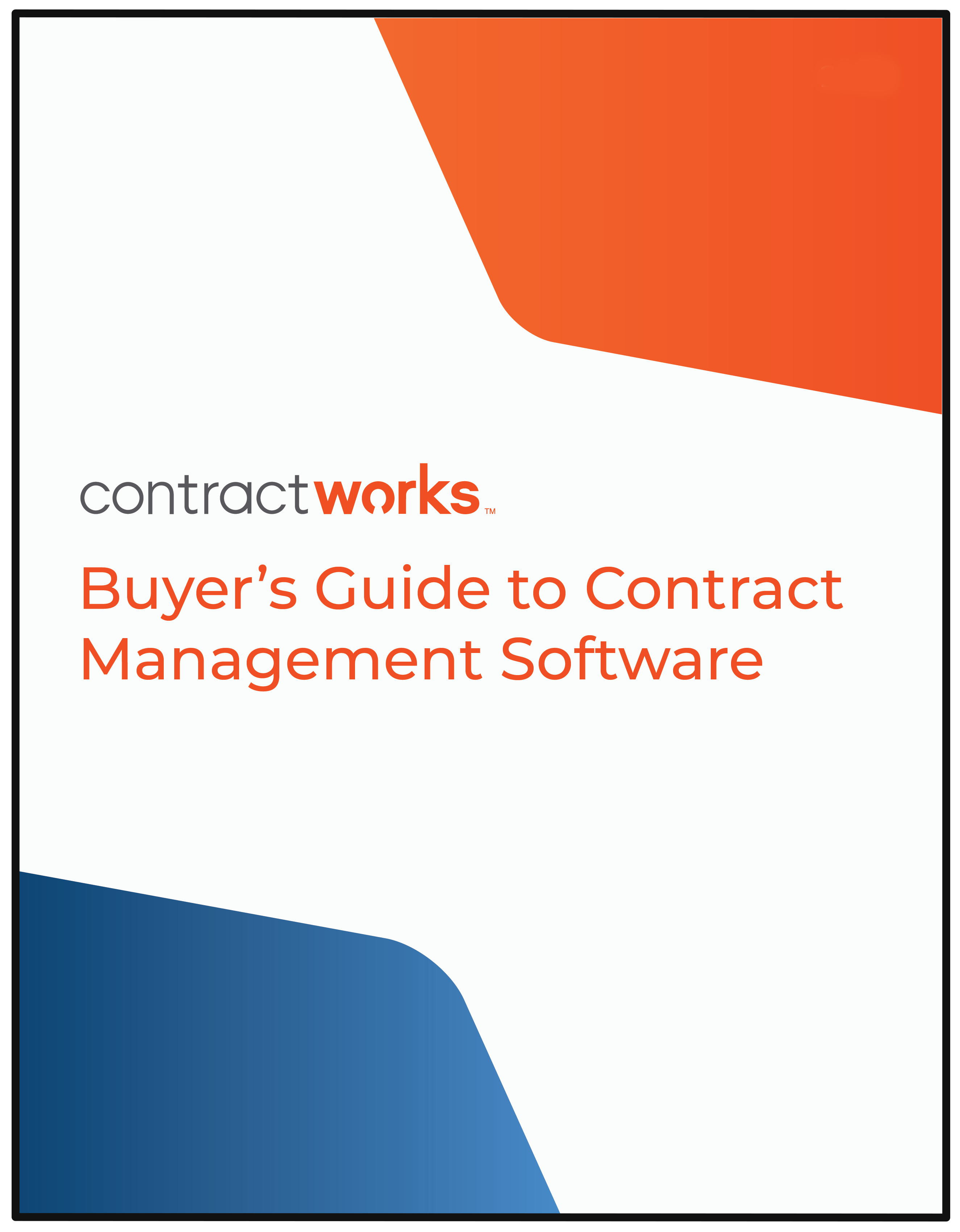 The Buyer's Guide to Contract Management Software