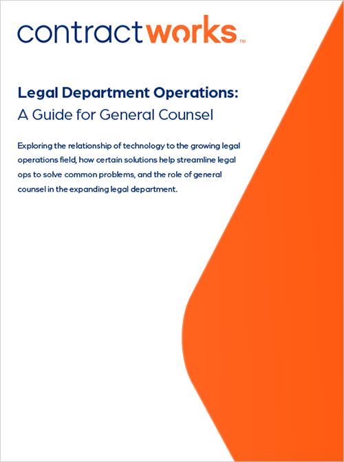 Legal Department Operations: A Guide for General Counsel