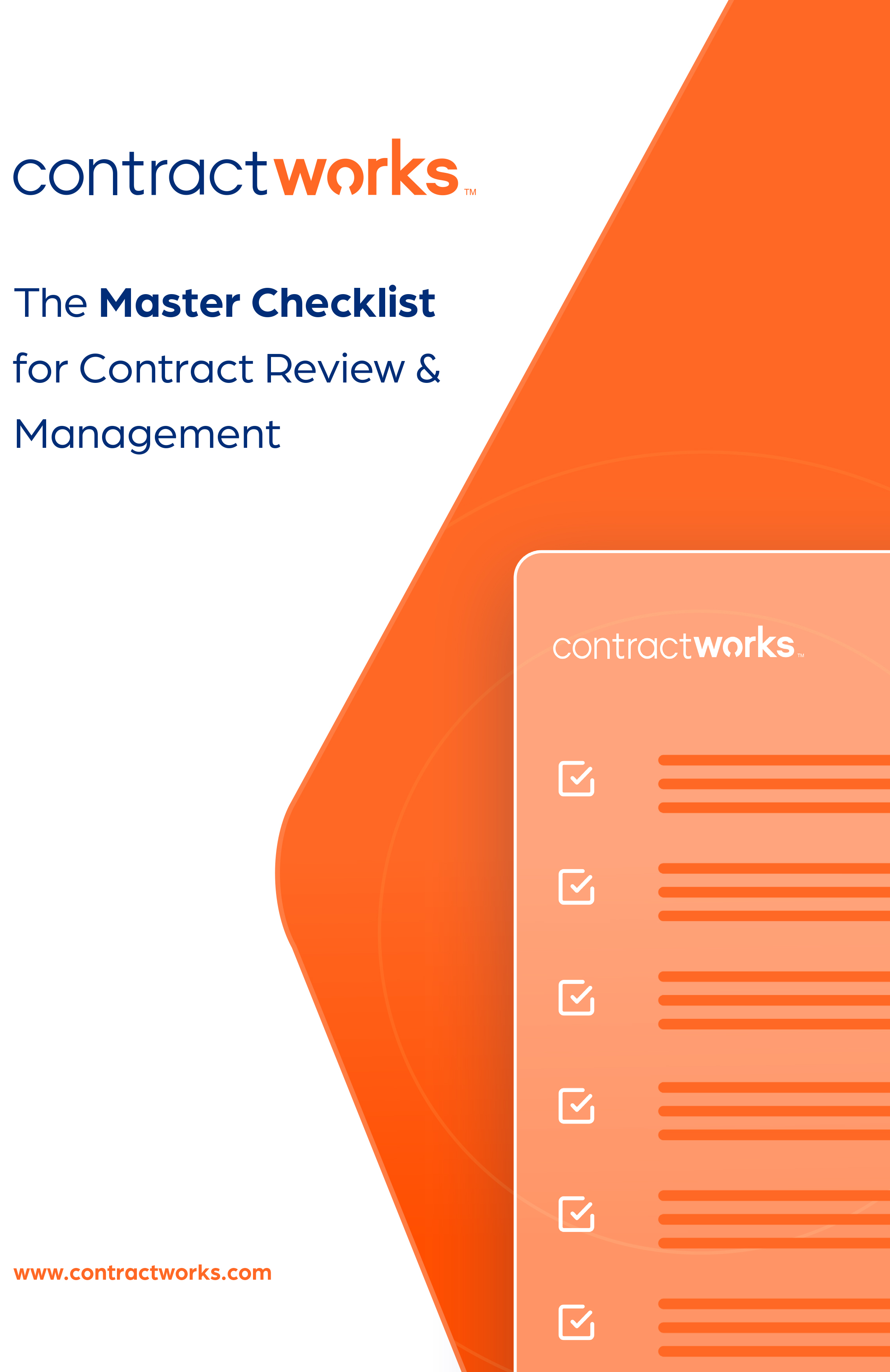 The Master Checklist for Contract Review & Management