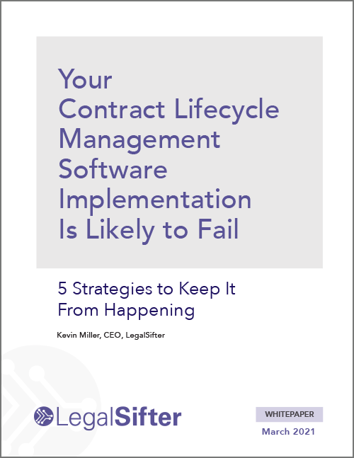 5 Strategies to Prevent Your CLM Implementation from Failing